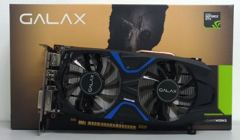 Đánh giá card đồ họa Galax GTX 1050Ti EXOC - Gã đao phủ