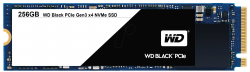 SSD WD BLACK 256GB / PCIE GEN3 8 GB/S / M2-2280 / READ UP TO 2050MB / WRITE UP TO 700MB / UP TO 170K/130K IOPS (MÀU ĐEN)