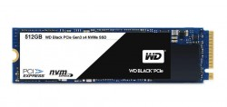 SSD WD BLACK 512GB / PCIE GEN3 8 GB/S / M2-2280 / READ UP TO 2050MB / WRITE UP TO 800MB / UP TO 170K/134K IOPS (MÀU ĐEN)