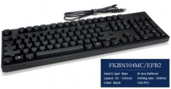 Keyboard Filco Majestouch Convertible 2 Blue switch 104 Black - FKBC104MC/EB2