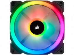 Fan LL120 RGB 120mm Dual Light Loop RGB LED PWM - 3 Fan Pack with Lighting Node PRO