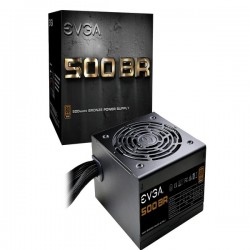 Nguồn EVGA 500 BR, 80+ BRONZE 500W, 3 Year Warranty, Power Supply 100-BR-0500-K1
