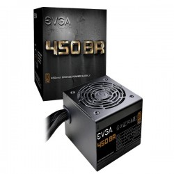 Nguồn EVGA 450 BR, 80+ BRONZE 450W, 3 Year Warranty, Power Supply 100-BR-0450-K1