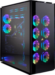 Case Corsair Obsidian Series 1000D Super Tower Full Tempered Glass Aluminum (CC-9011148-WW)