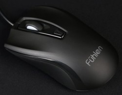 Mouse Fuhlen X102S Optical Black USB