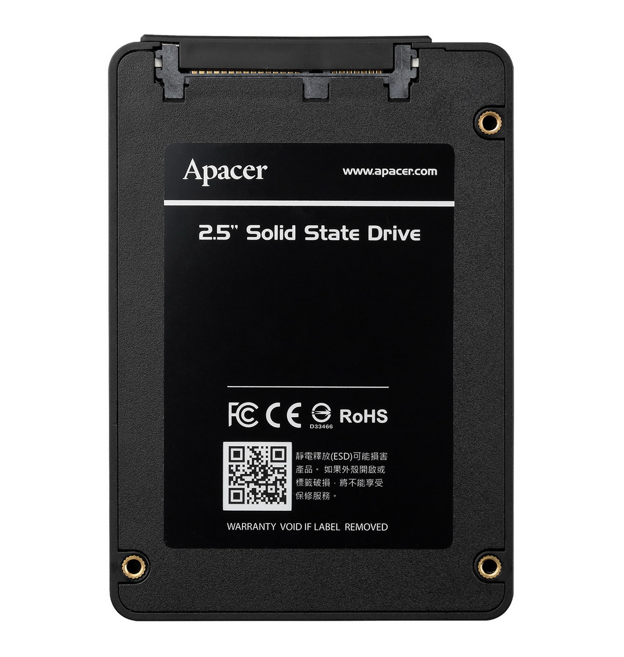 "SSD APACER AS340 SSD 2.5"" 7MM SATAIII, 120GB"