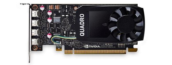 Card đồ họa nVidia Quadro P1000 4GB GDDR5