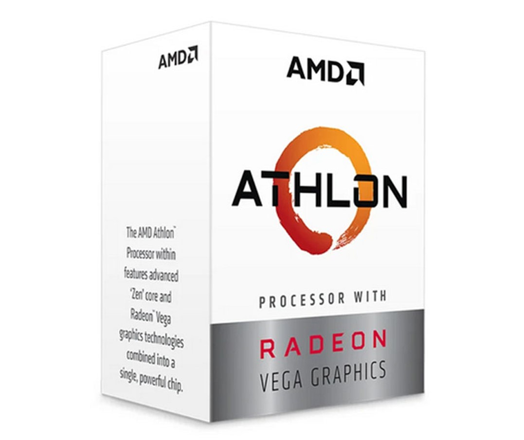 CPU AMD Ryzen Athlon 200GE 3.2 GHz / 5MB / 2 cores 4 threads / Radeon Vega 3 / socket AM4 / 35W chính hãng