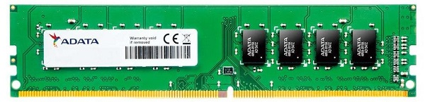 Ram máy tính ADATA 1x4GB DDR4 2666MHz - AD4U2666J4G19-S