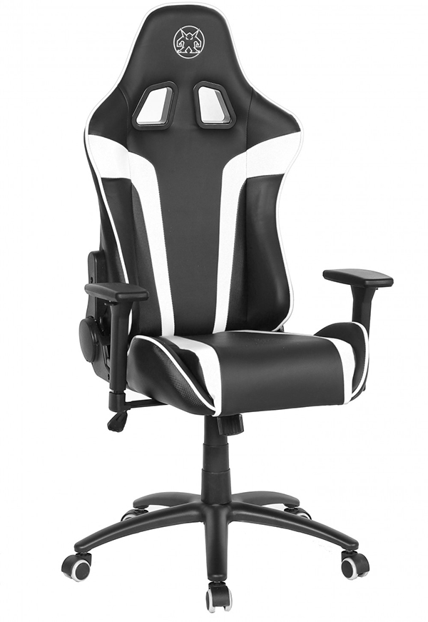 Ghế ACE Gaming Chair Rogue Series KW-G6027 Black/White