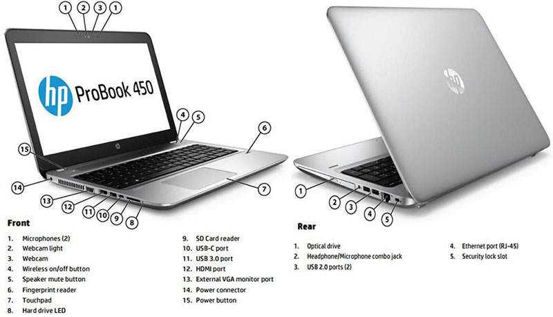 "Laptop HP Probook 440 G6 -5YM64PA- vỏ nhôm bạc(Core i5 8265U, 1.6 up 3.9Ghz, 4GB DDR4 (còn 1slot), HDD 500GB + 1 slot M.2 PCI SSD, Intel UHD620, 14"" Full HD, FingerPrint, Key_LED,Dos) ưu đãi"
