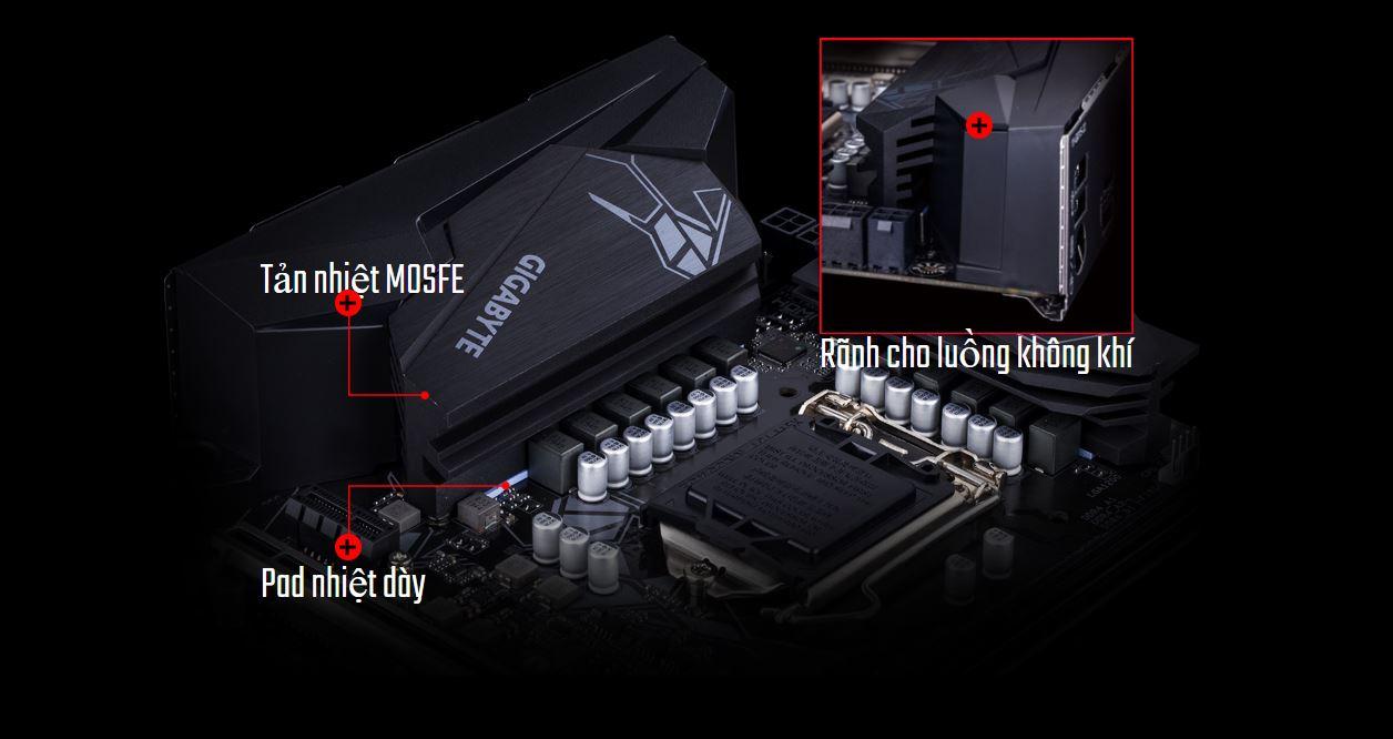 Mainboard GIGABYTE Z490 GAMING X chính hãng