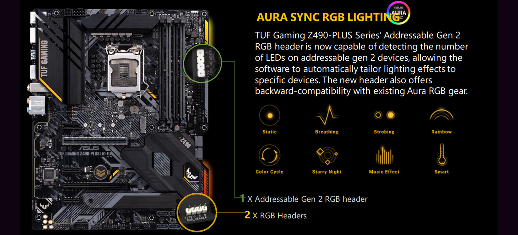 Mainboard ASUS TUF GAMING Z490-PLUS chất lượng