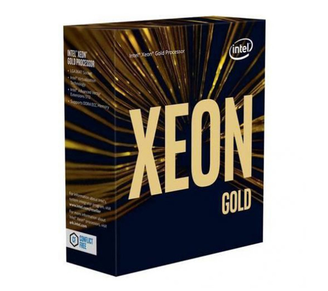 CPU Intel Xeon Gold 6230 (2.1GHz turbo up to 3.9GHz, 20 nhân, 40 luồng, 27.5 MB Cache, 125W) - Socket Intel LGA 3647 chính hãng