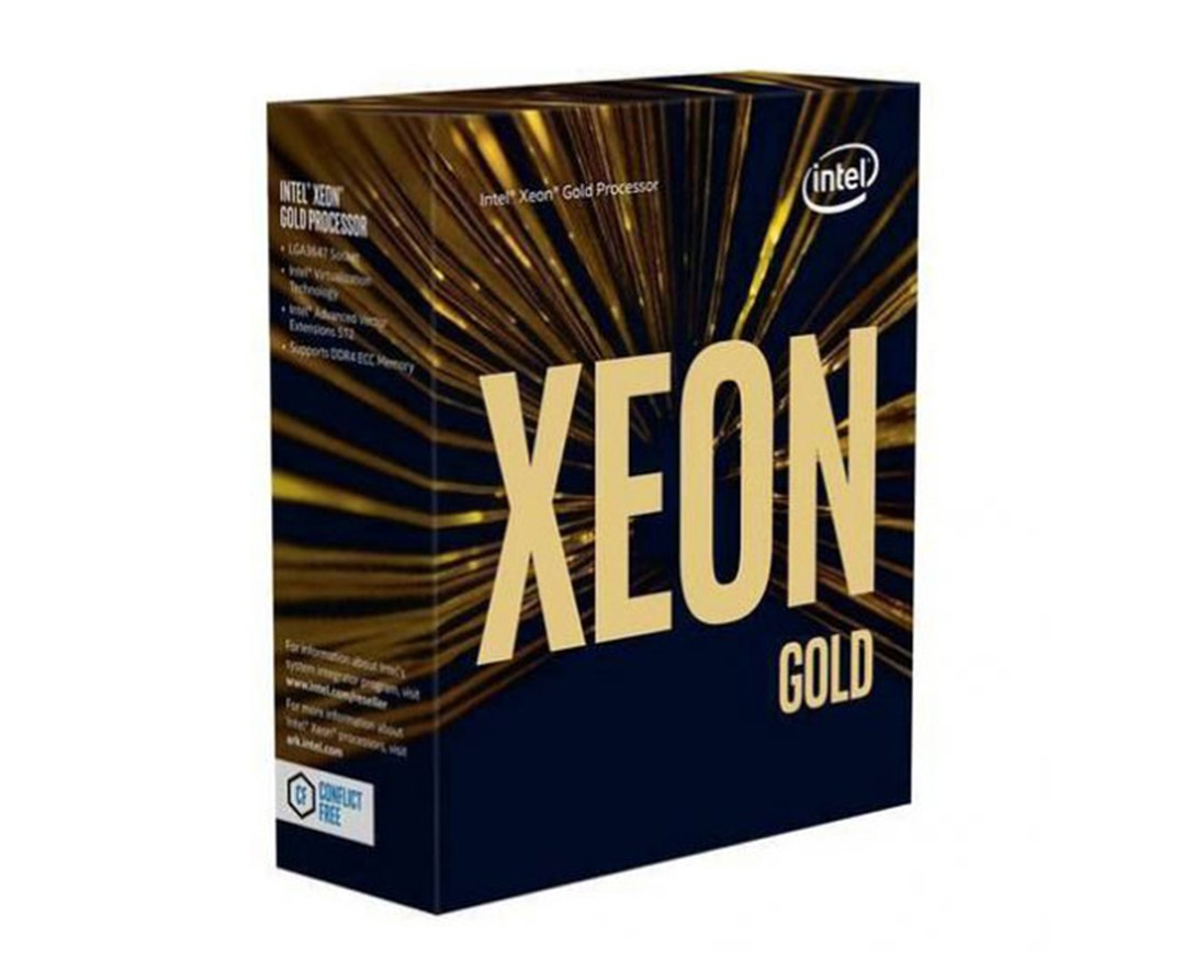CPU Intel Xeon Gold 6142 (2.6GHz turbo up to 3.7GHz, 16 nhân, 32 luồng, 22MB Cache, 150W) - Socket Intel LGA 3647 chính hãng