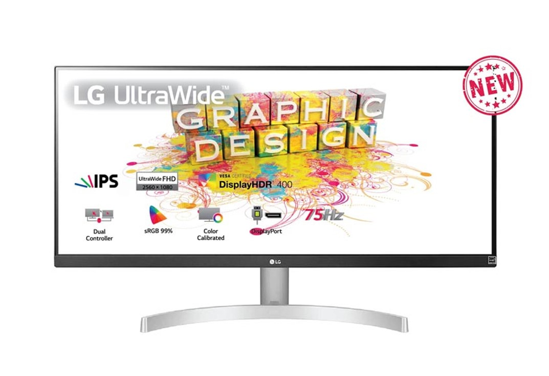 Màn hình LG 29WN600-W (29 inch/2K/IPS/60Hz/5ms/300 nits/HDMI+DP)