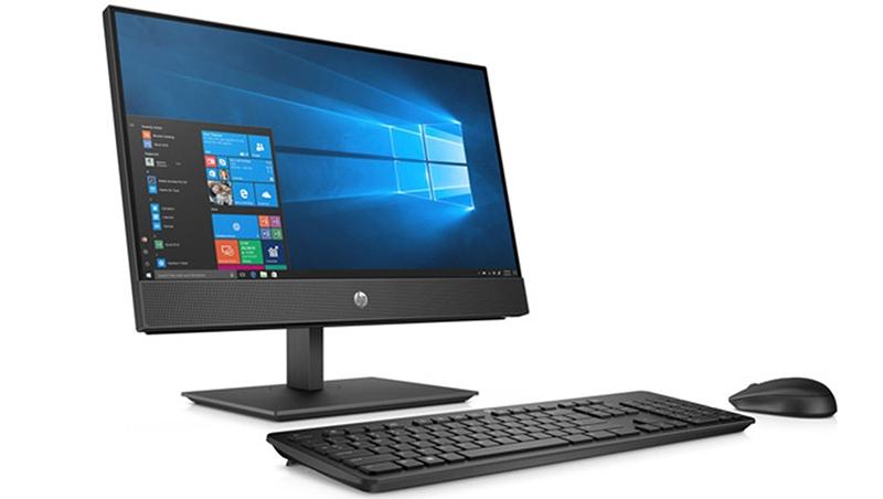 PC HP All in One ProOne 600 G5 8GB58PA (i5-9500T/4GB RAM/256GB SSD/21.5 inch FHD/Touch/DVDWR/WL+BT/K+M/Win 10)