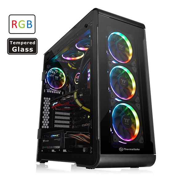 Case View 32 Tempered Glass RGB Edition