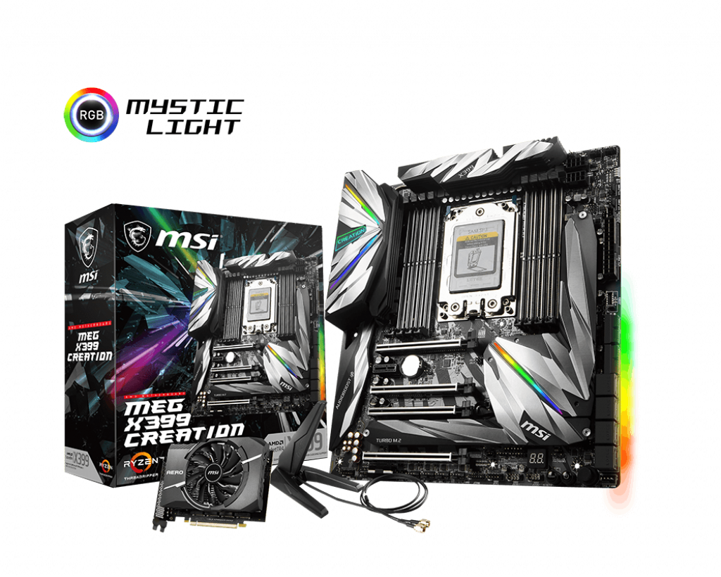 Mainboard MSI MEG X399 CREATION