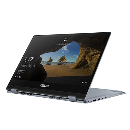 "Laptop Asus  TP412FA-EC121T -  Silver Blue (new)- cảm ứng( i3 8145U, 4GB, 256GB M.2 SSD, intel 620, 14.0"" FHD Anti Glare, , 1,5kg, Fingerprint , WIN10SL)"