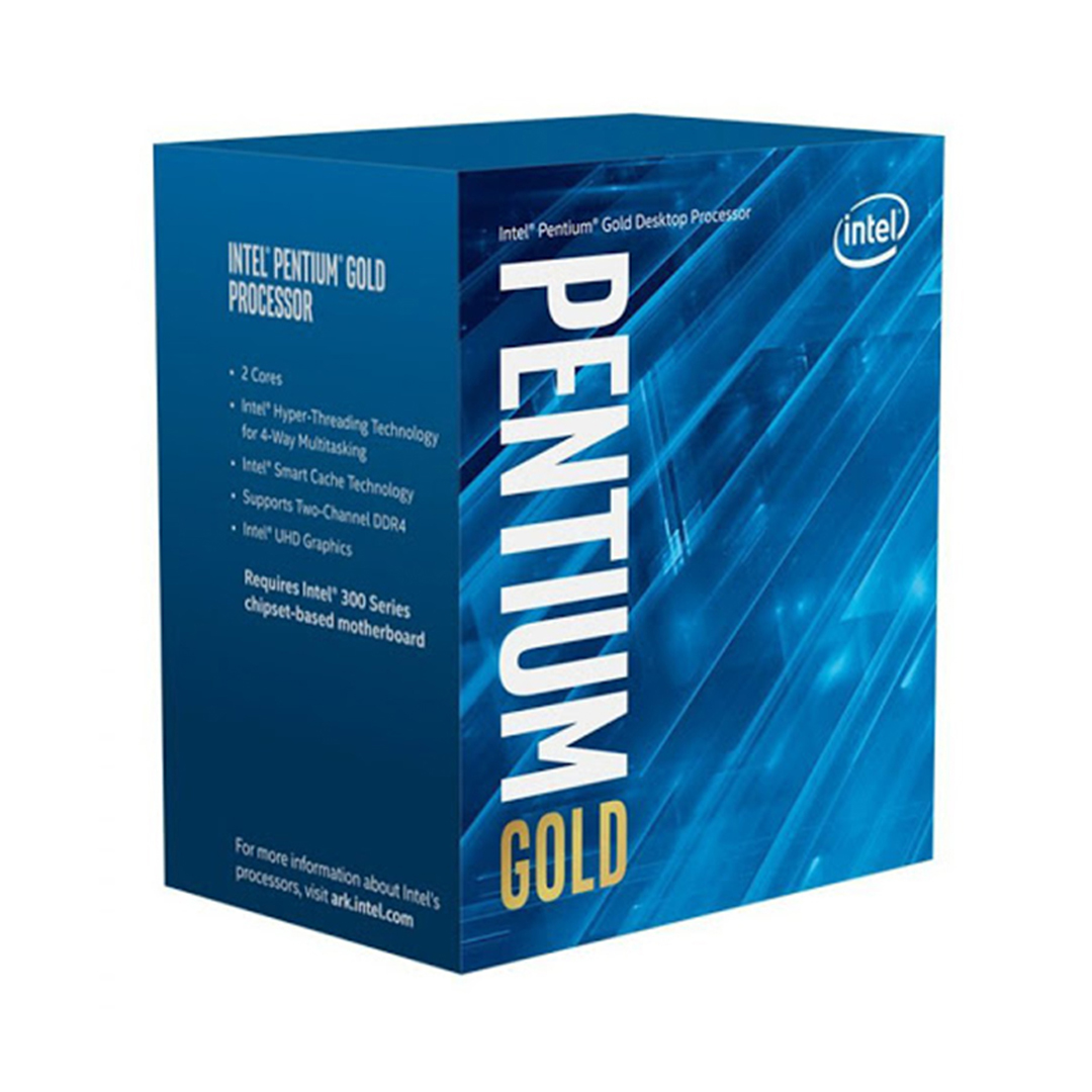 CPU Intel Pentium Gold G6600 (4.2GHz, 2 nhân 4 luồng, 4MB Cache, 58W) - Socket Intel LGA 1200)