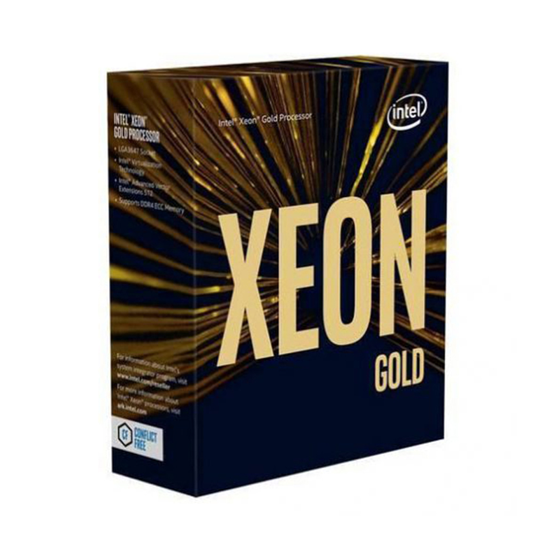 CPU Intel Xeon Gold 6230 (2.1GHz turbo up to 3.9GHz, 20 nhân, 40 luồng, 27.5 MB Cache, 125W) - Socket Intel LGA 3647